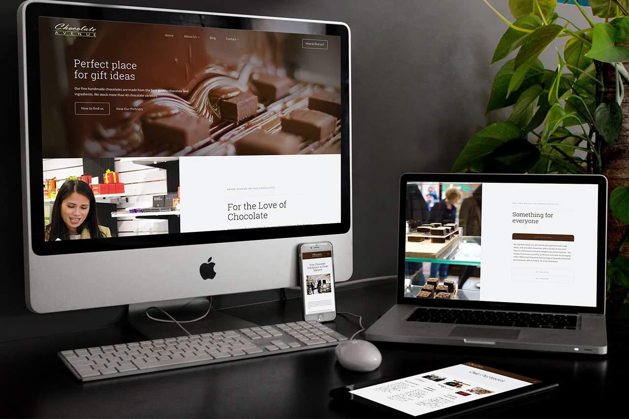 Chocolate Avenue Website