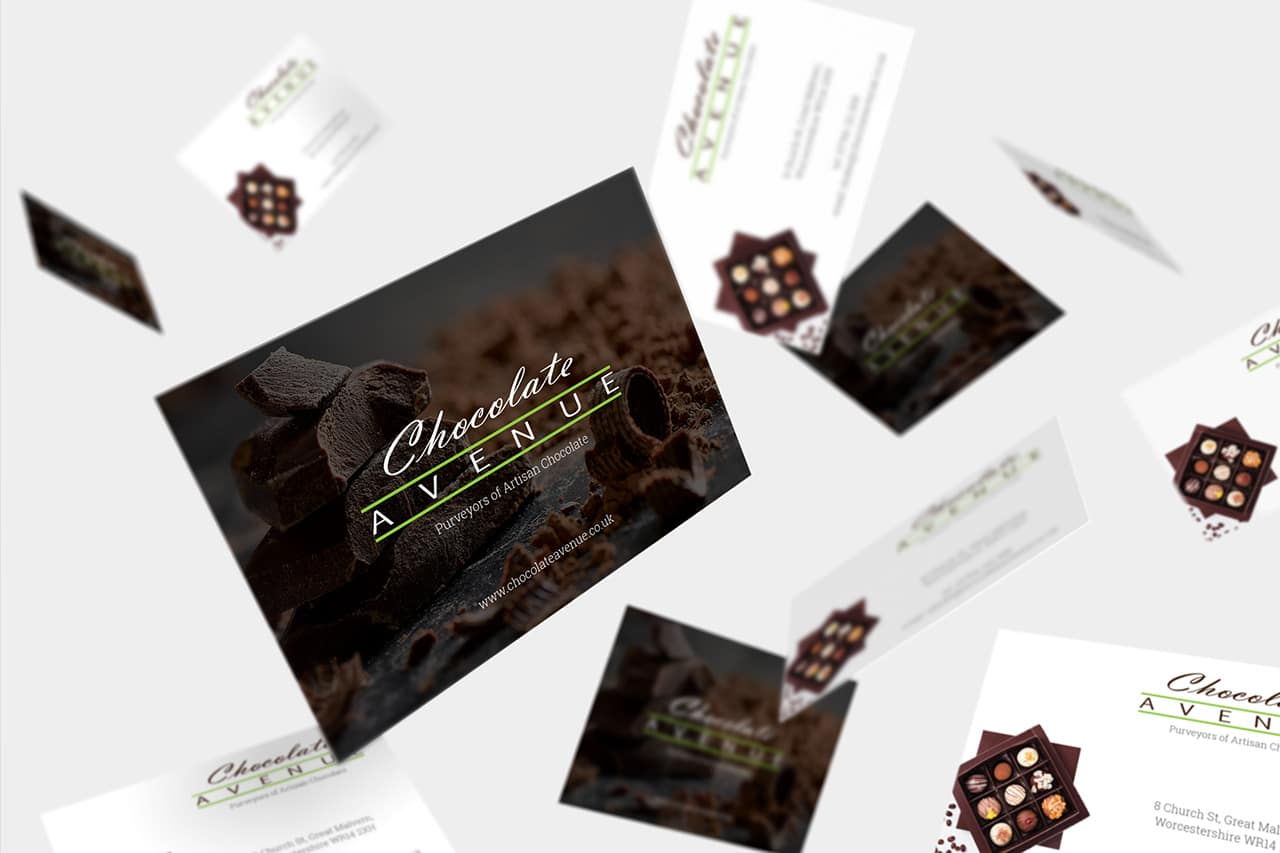 Chocolate Avenue Business Cards