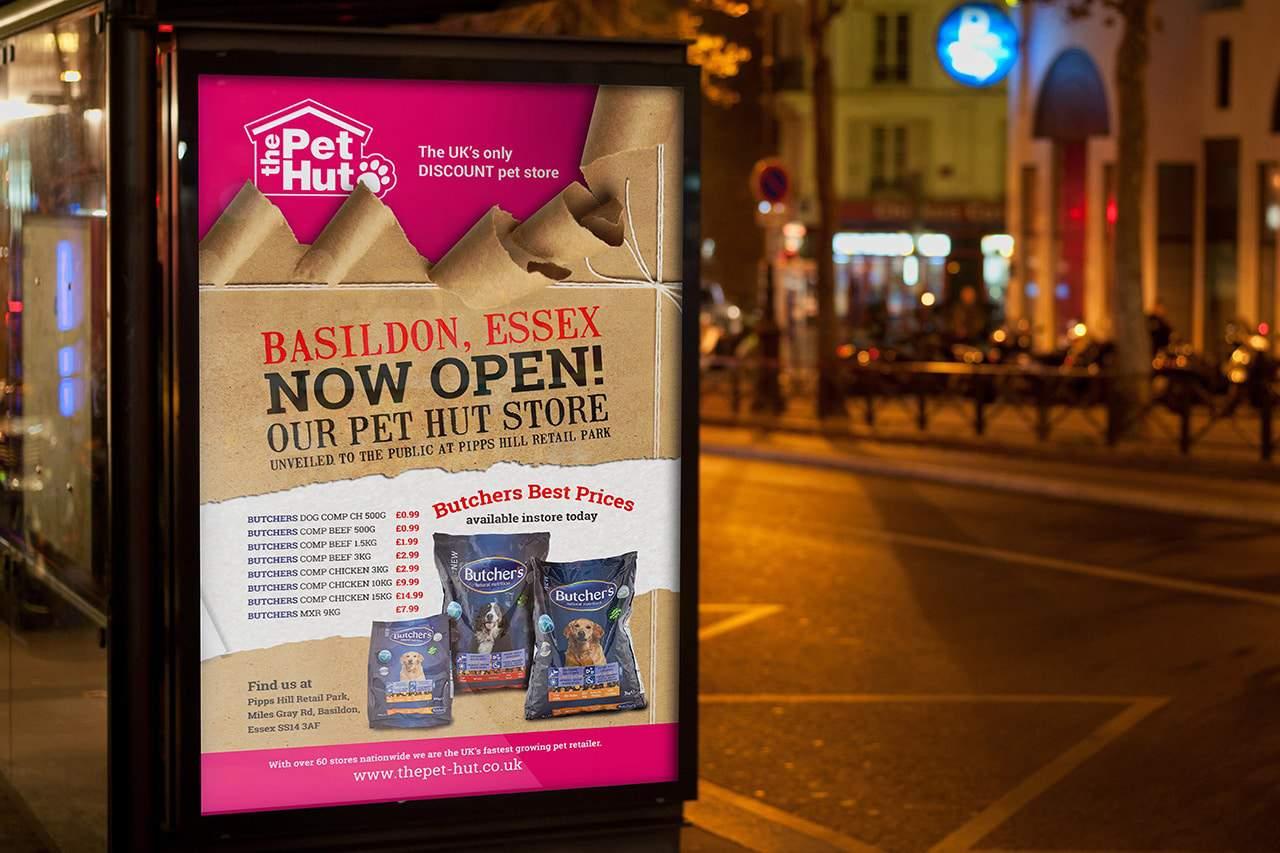 Pethut outdoor advertising