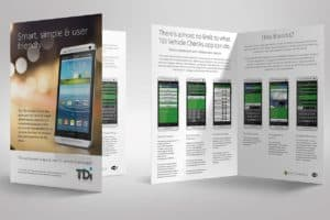 TDi brochure for their new software