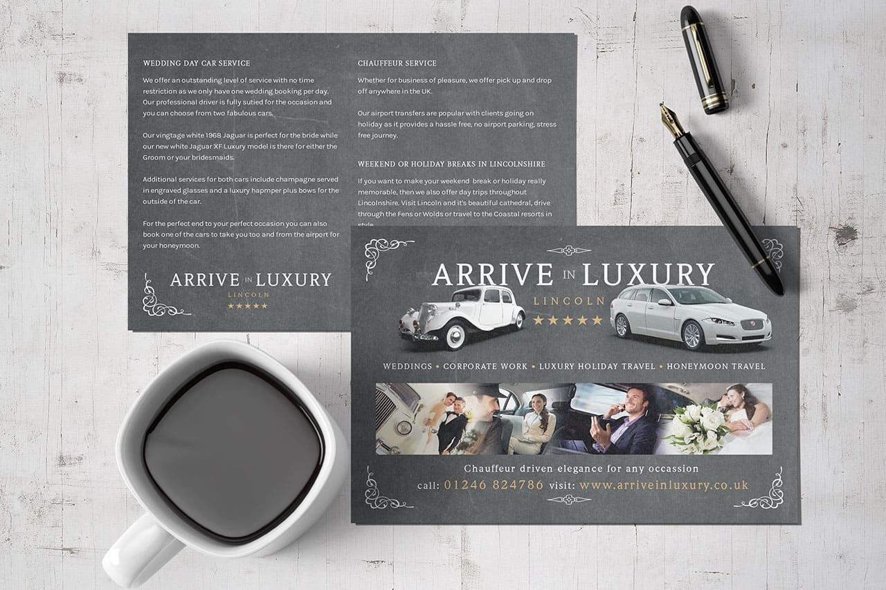 Arrive in luxury