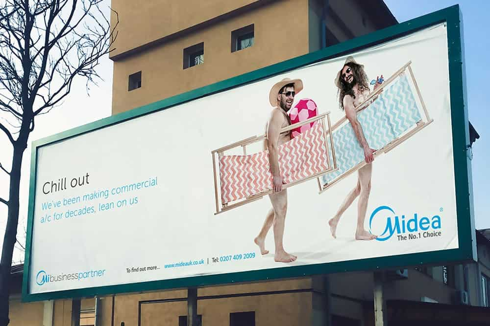 Midea Outdoor Advertising