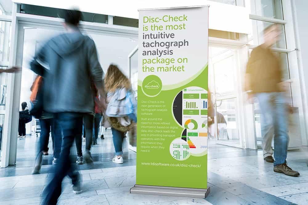 TDI Disc-Check Exhibition Banner
